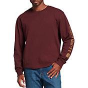 Carhartt Men's Sleeve Logo Graphic Long Sleeve T-Shirt