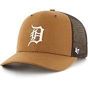 Carhartt Men's Detroit Tigers Brown Mesh MVP Adjustable Hat