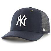 Carhartt Men's New York Yankees Navy Mesh MVP Adjustable Hat