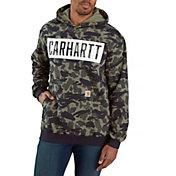 Carhartt Men's Loose Fit Heavyweight Camo Hoodie