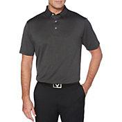 Callaway Men's Heathered Jacquard Golf Polo