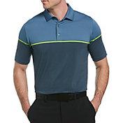 Callaway Men's Engineered Stripe Short Sleeve Golf Polo