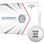 Callaway 2021 Supersoft Personalized Golf Balls