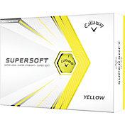 Callaway 2021 Supersoft Gloss Yellow Golf Balls