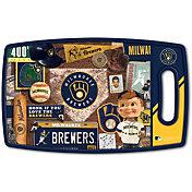 You The Fan Milwaukee Brewers Retro Cutting Board