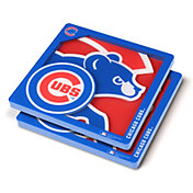 You the Fan Chicago Cubs Logo Series Coaster Set
