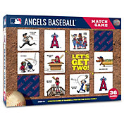 You The Fan Los Angeles Angels Memory Match Game