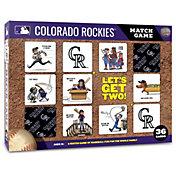You The Fan Colorado Rockies Memory Match Game