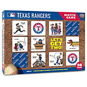 You The Fan Texas Rangers Memory Match Game