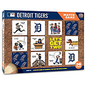 You The Fan Detroit Tigers Memory Match Game
