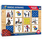 You The Fan Kansas Jayhawks Memory Match Game