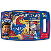You The Fan Kansas Jayhawks Retro Cutting Board