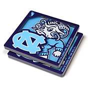 You the Fan North Carolina Tar Heels Logo Series Coaster Set