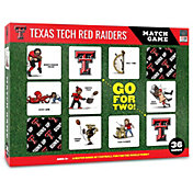 You The Fan Texas Tech Red Raiders Memory Match Game