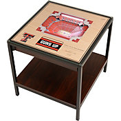 You The Fan Texas Tech Red Raiders 25-Layer Stadium Views Lighted End Table