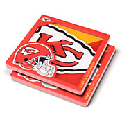 You the Fan Kansas City Chiefs Logo Series Coaster Set