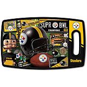 You The Fan Pittsburgh Steelers Retro Cutting Board
