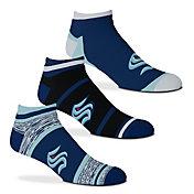 For Bare Feet Seattle Kraken 4-Stripe Deuce Socks