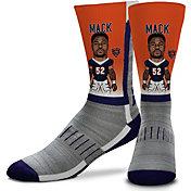 For Bare Feet Chicago Bears Khalil Mack Player Socks