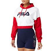 FILA Women's Saachi Cropped Hoodie