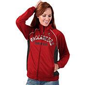 G-III for Her Women's Tampa Bay Buccaneers Sequins Red Track Jacket