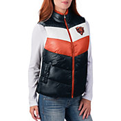 G-III for Her Women's Chicago Bears Rebound Puff Navy Vest