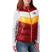 G-III for Her Women's Kansas City Chiefs Rebound Puff Red Vest
