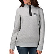 G-III for Her Women's Las Vegas Raiders First Hit Quilted Pullover Jacket