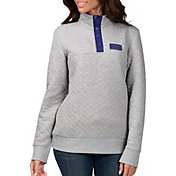 G-III for Her Women's Baltimore Ravens First Hit Quilted Pullover Jacket