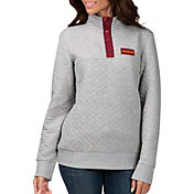 G-III for Her Women's Washington Football Team First Hit Quilted Pullover Jacket