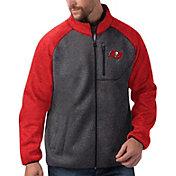 G-III Men's Tampa Bay Buccaneers Switchback Full-Zip Charcoal Jacket