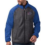 G-III Men's Buffalo Bills Switchback Full-Zip Charcoal Jacket
