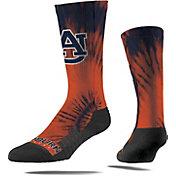 Strideline Auburn Tigers Tie Dye Crew Socks
