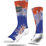 Strideline Florida Gators Tie Dye Crew Socks