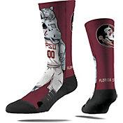 Strideline Florida State Seminoles Mascot Crew Socks