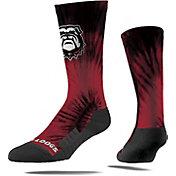 Strideline Georgia Bulldogs Tie Dye Crew Socks