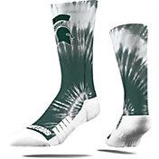 Strideline Michigan State Spartans Tie Dye Crew Socks