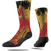 Strideline Maryland Terrapins Tie Dye Crew Socks