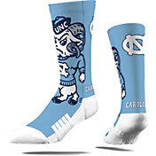 Strideline North Carolina Tar Heels Mascot Crew Socks