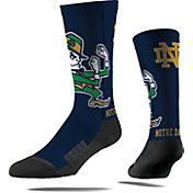 Strideline Notre Dame Fighting Irish Mascot Crew Socks