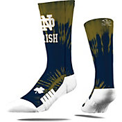 Strideline Notre Dame Fighting Irish Tie Dye Crew Socks