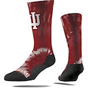 Strideline Indiana Hoosiers Tie Dye Crew Socks