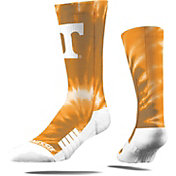 Strideline Texas Longhorns Tie Dye Crew Socks