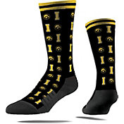 Strideline Iowa Hawkeyes Repeat Crew Socks