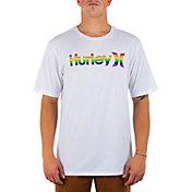 Hurley Men's OAO Pride Staple Graphic T-Shirt
