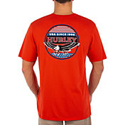 Everyday Washed USA Eagle Staple Graphic T-shirt
