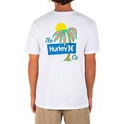Hurley Men's Everyday Washed Welcome To Paradise Graphic T-Shirt
