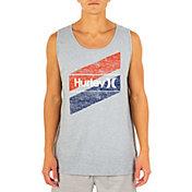 Hurley Men's Everyday Washed OAO America Slash Tank Top