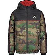 Jordan Boys' Color Blocked Air Puffer Jacket