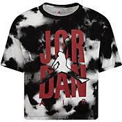 Jordan Girls' Tie Dye Logo T-Shirt